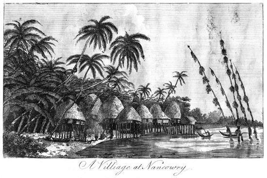 a-village-at-nancowry-nicobar-islands-1799