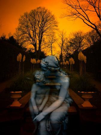 abdul-kadir-audah-ghostly-mother-and-child-in-garden