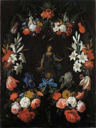 abraham-mignon-garland-of-flowers-ca-1675