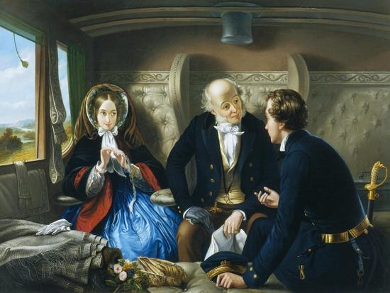 abraham-solomon-travelling-first-class-the-meeting