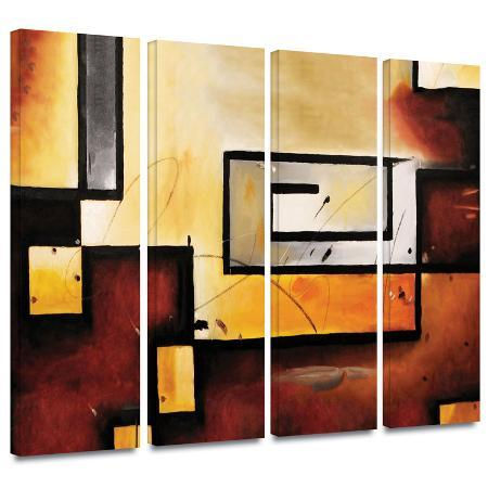 abstract-modern-4-piece-gallery-wrapped-canvas