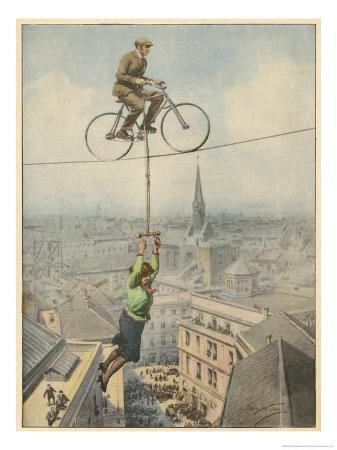 achille-beltrame-german-husband-and-wife-team-perform-a-dramatic-tightrope-cycling-act