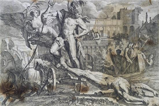 achilles-dragging-hector-s-body-around-walls-of-troy