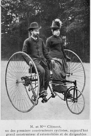 adolphe-clement-and-his-wife-on-a-tricycle