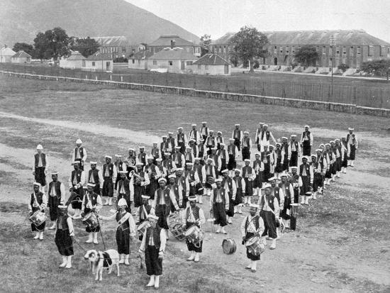 adolphe-son-duperly-west-indian-band-up-park-camp-jamaica-c1905