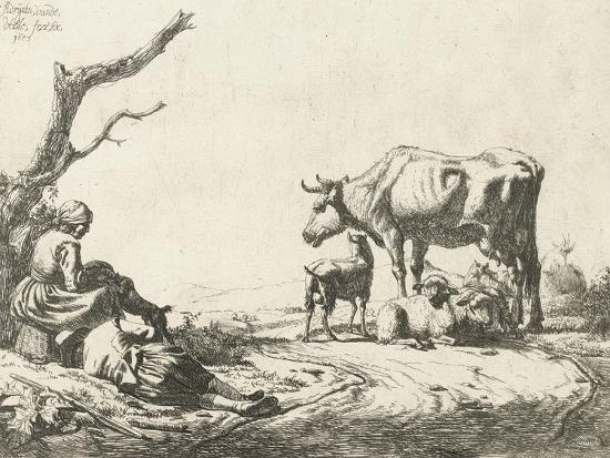 adriaen-van-de-velde-shepherd-and-shepherdess-with-cattle-1653