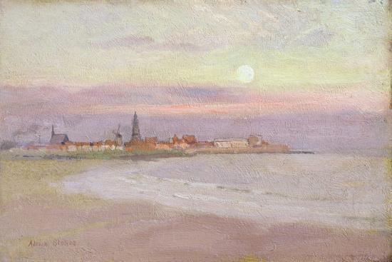 adrian-scott-stokes-village-in-friesland-1900