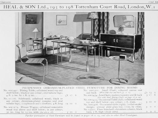 advert-for-heal-and-son-s-chromium-plated-steel-dining-room-furniture-1920s