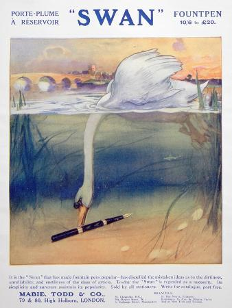 advert-for-swan-fountain-pens-c1906