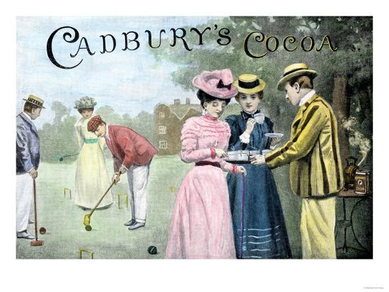 advertisement-for-cadbury-s-cocoa-showing-a-croquet-game-c-1899
