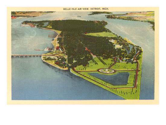aerial-view-belle-isle-detroit-michigan
