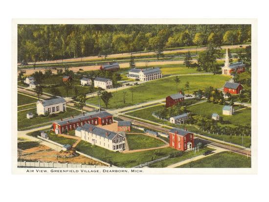aerial-view-greenfield-village-dearborn-michigan