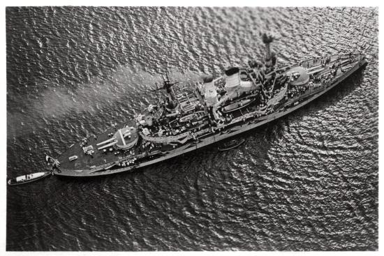 aerial-view-of-the-german-battleship-sms-schlesien-from-a-zeppelin-c1931