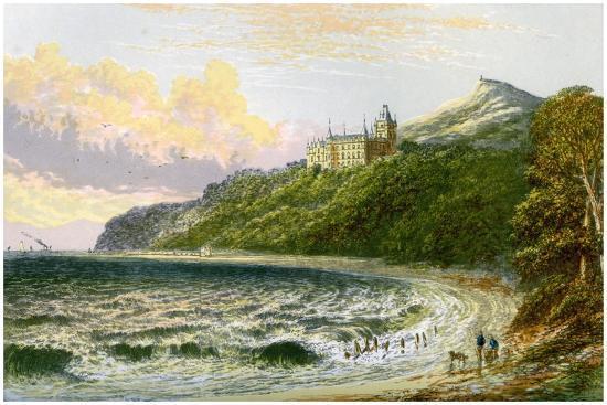af-lydon-dunrobin-castle-sutherland-scotland-home-of-the-duke-of-sutherland-c1880