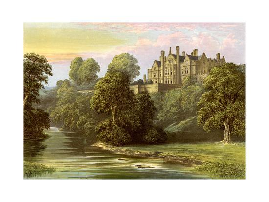 af-lydon-lilburn-tower-northumberland-home-of-the-collingwood-family-c1880