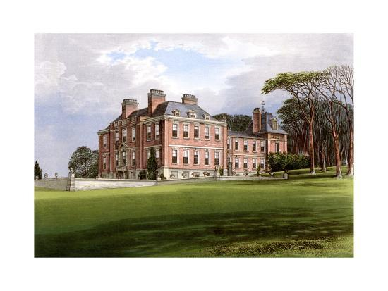 af-lydon-pynes-devon-home-of-the-northcote-family-c1880