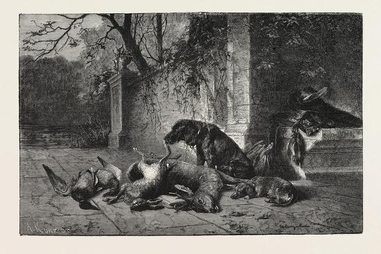 after-the-hunt-dogs-deer-hare-ducks-1876