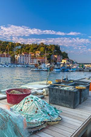 alan-copson-fishing-nets-old-town-harbour-piran-primorska-slovenian-istria-slovenia-europe