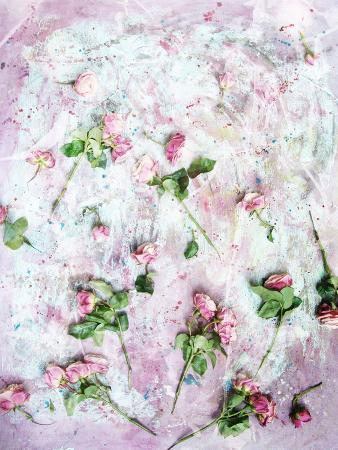 alaya-gadeh-poetic-photomontage-of-pink-roses-on-painted-ground-with-textures-of-floral-ornaments