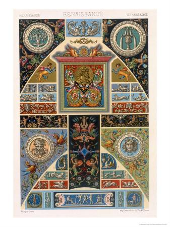 albert-charles-august-racinet-renaissance-style-plate-from-polychrome-ornament-engraved-by-f-durin-c-1869
