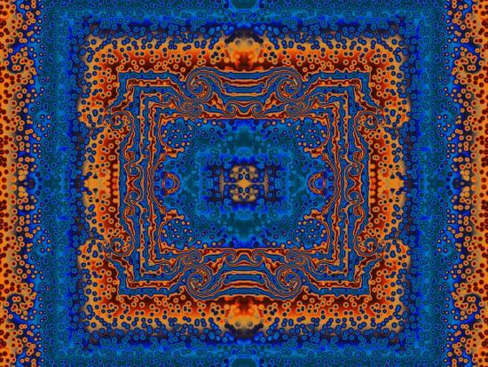 albert-klein-blue-and-orange-morrocan-style-fractal-design