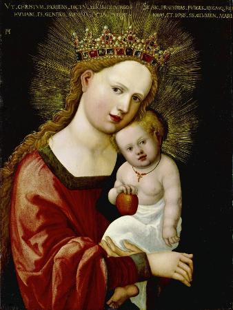 albrecht-altdorfer-madonna-and-child-1520