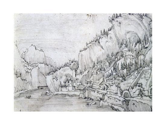 albrecht-altdorfer-sarmingstein-on-the-danube-16th-century