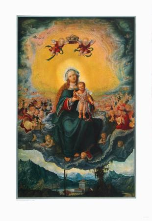 albrecht-altdorfer-virgin-and-child-in-the-glory