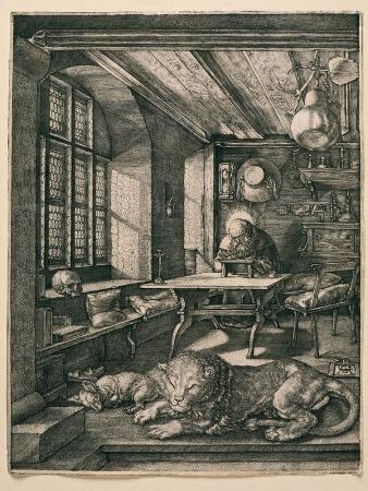 albrecht-duerer-saint-jerome-in-his-cell