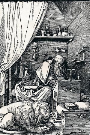 albrecht-duerer-st-jerome-in-his-cell-1511