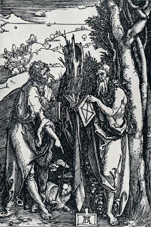 albrecht-duerer-st-john-the-baptist-and-st-onuphrius-1504