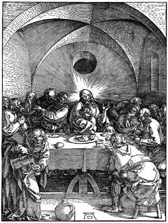 albrecht-durer-the-last-supper-from-the-great-passion-series-c1510
