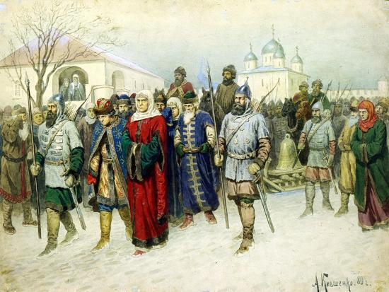 aleksey-kivshenko-martha-the-mayoress-escorted-to-moscow-1880