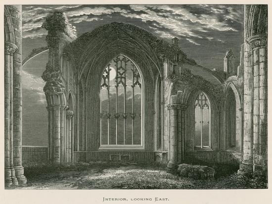alexander-francis-lydon-melrose-abbey-interior-looking-east