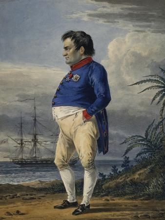 alexander-orlowski-napoleon-on-the-island-of-saint-helena-ca-1820