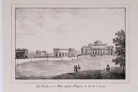 alexander-pluchart-the-yelagin-palace-at-saint-petersburg-series-views-of-saint-petersbur-1820s