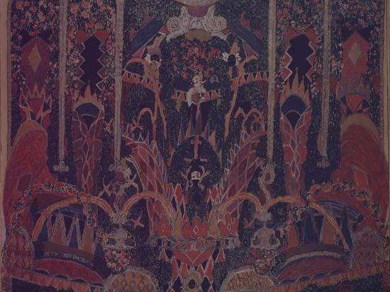 alexander-yakovlevich-golovin-design-of-masquerade-curtain-for-the-theatre-play-the-masquerade-by-m-lermontov-1917