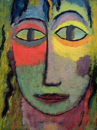 alexej-von-jawlensky-head-of-a-woman-medusa-1923
