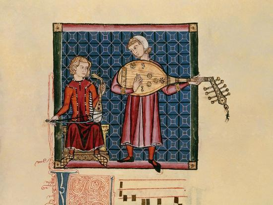 alfonso-x-cantigas-de-santa-maria-codice-de-los-musicos-rabel-y-laud-arabigo