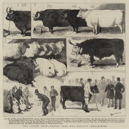 alfred-chantrey-corbould-the-cattle-show-leaves-from-our-artist-s-sketch-book