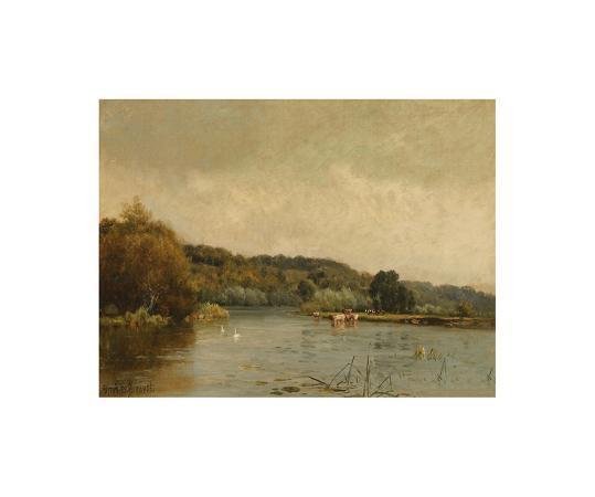 alfred-de-breanski-an-autumn-morning-no-3