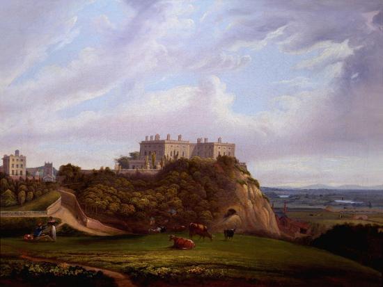 alfred-parker-nottingham-castle-england