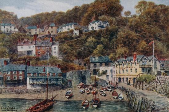 alfred-robert-quinton-clovelly-from-the-quay