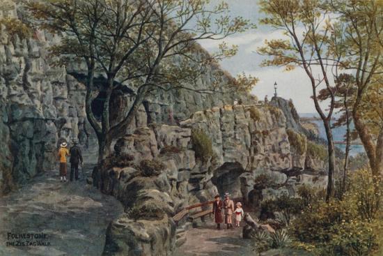 alfred-robert-quinton-folkestone-the-zig-zag-walk