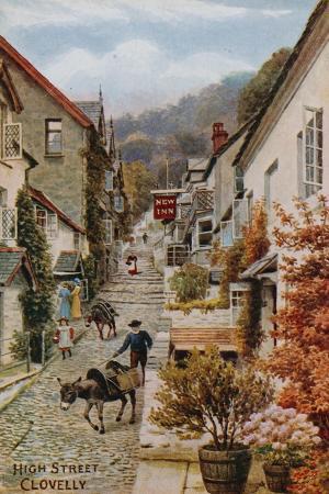 alfred-robert-quinton-high-street-clovelly