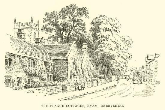alfred-robert-quinton-the-plague-cottages-eyam-derbyshire