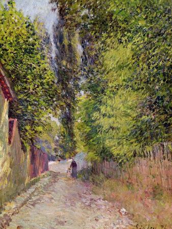 alfred-sisley-landscape-near-louveciennes-1876