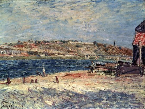 alfred-sisley-river-banks-at-saint-mammes-1884