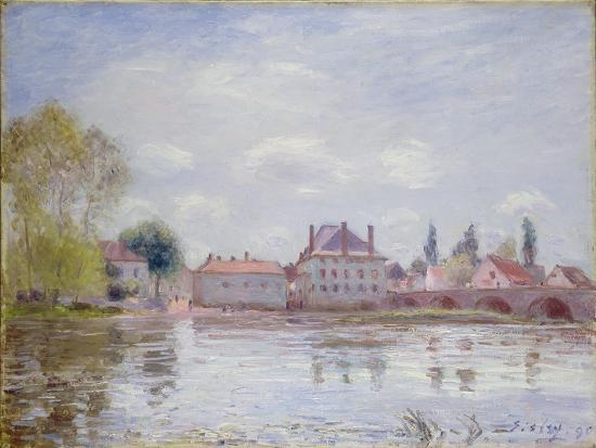alfred-sisley-the-bridge-at-moret-sur-loing-1890