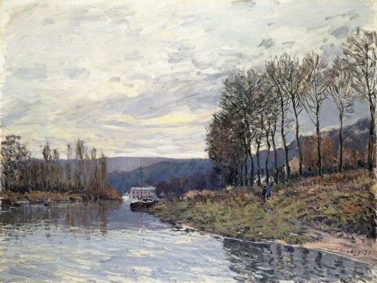 alfred-sisley-the-seine-at-bougival-1873